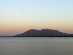Moonrise over Mt. Konocti