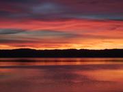 Sunset Clear Lake